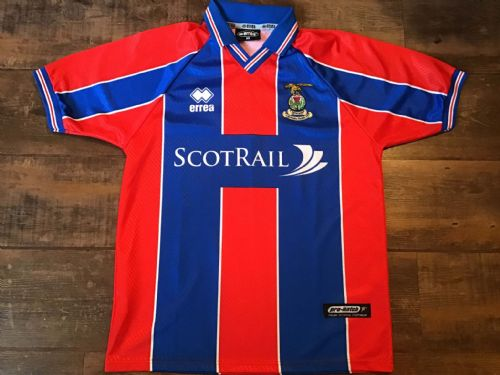 2000 2001 Inverness Caledonian Thistle Home Football Shirt Medium
